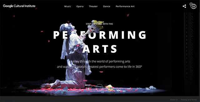 google-cultural-institute-website