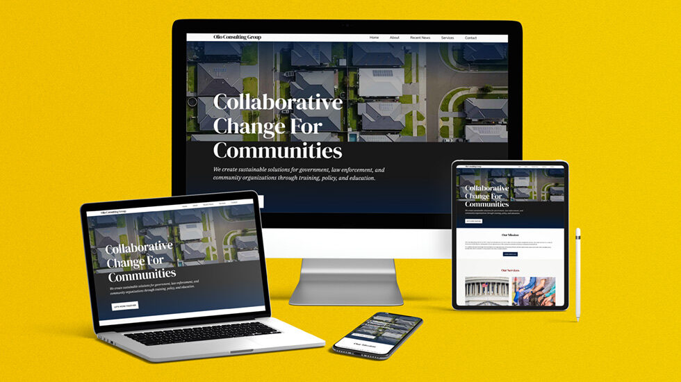 Olio Consulting Group website